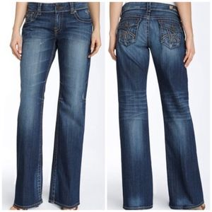 kut from the kloth | so low bootcut denim jeans 8